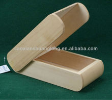 new designed unfinished miniature wooden case for cigarette