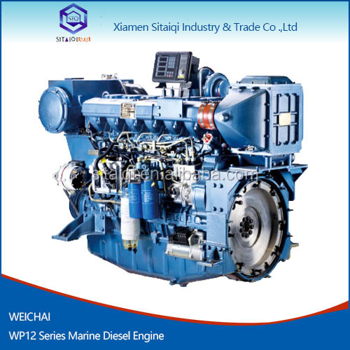 Weichai Hot selling Marine Diesel Engine WP12 258-405kW for Deutz