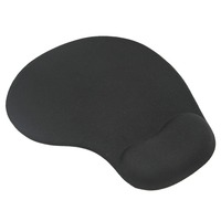100% Brand Gel Mouse Pad with Wrist Rest 230*190*19mm Pink,Red,Black,Green,Purple,Navy,Sky-Blue -Customize Negotiable