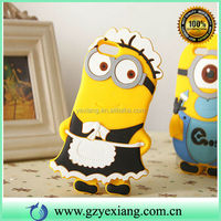 For Samsung Galaxy S3 3D Minion Case Cute Housemaid Cell Covers