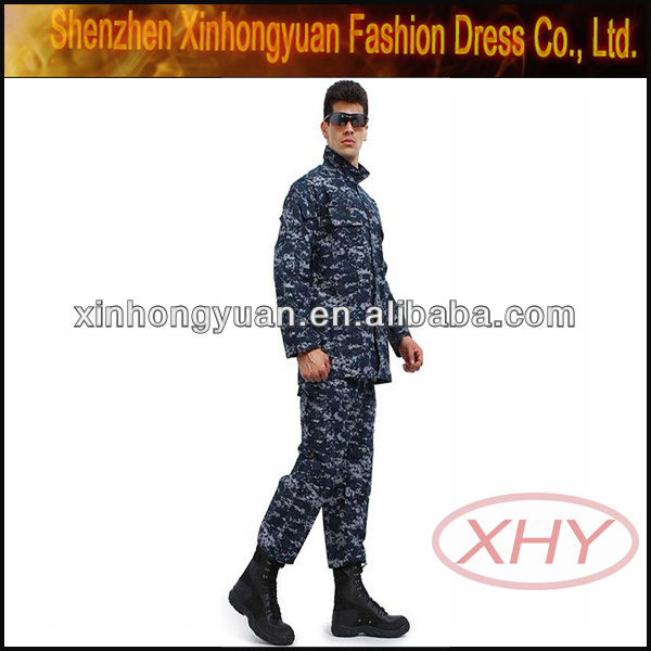 Military uniforms navy