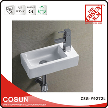 Fancy Small Size Toilet Ceramic Wash Basin