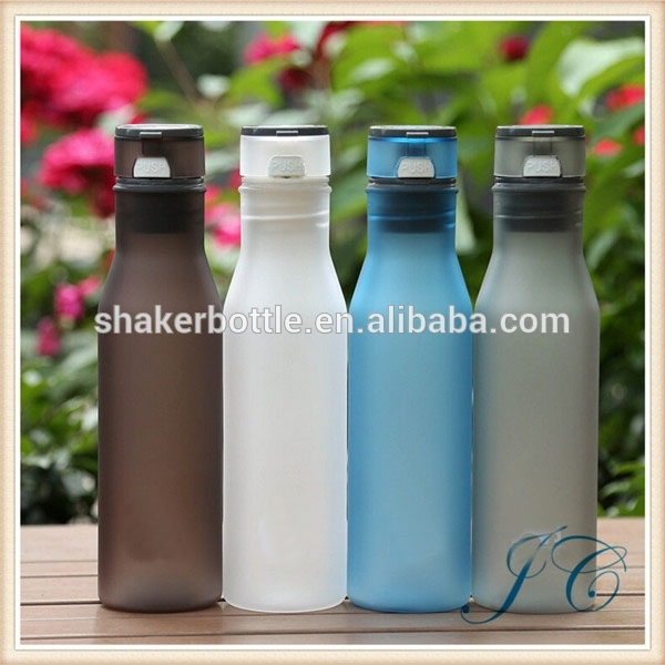 Hot Sale Fashion Candy Color Polishing Plastic Soda Bottles For OEM Logo