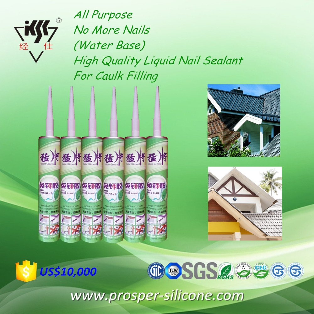 All Purpose No More Nails (Water Base) High Quality Liquid Nail Sealant For Caulk Filling