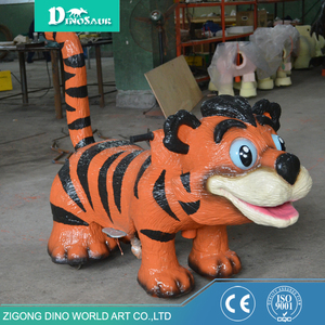 Amusement Park Coin Operated Animatronic Animal Ride