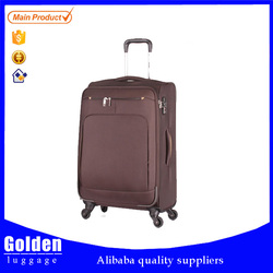 New style soft nylon luggage bag hot sales travel products trolley luggage