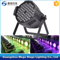 Guangzhou factory price stage par 64 rgbwa led par 54x3 w