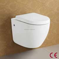Cheap Price White Colored Wall Hung Toilet