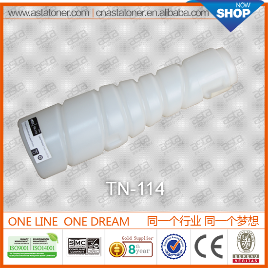 China Supplier TN-114 toner for konica minolta for konica minolta bizhub drum unit