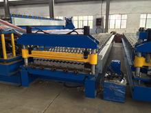 Cheap Metal Aluminum Corrugated Steel Sheet Making Machine , Wave Panel