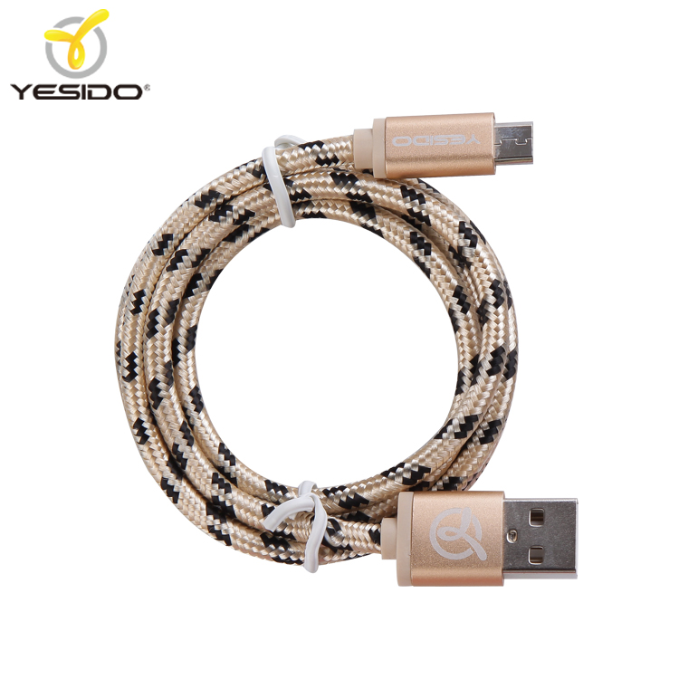 High quality nylon for apple charger cable for iphone 5 guangdong 1m micro 2.0 data usb cable for samsung
