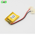 Small rechargeable 3.7V lithium polymer battery 401520 90mAh 3.6v li-ion batteries for wearable device