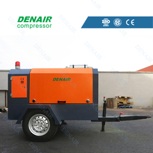 3.2-45m3 diesel mobile screw air-compressors manufacturer
