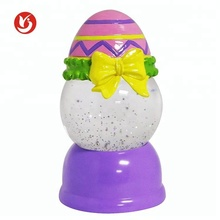 China Factory Fiberglass Eggs Plastic Easter Light