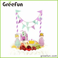 Lovely Designs Birthday Kids Party Cake Topper Hot Selling China Birthday Party Items