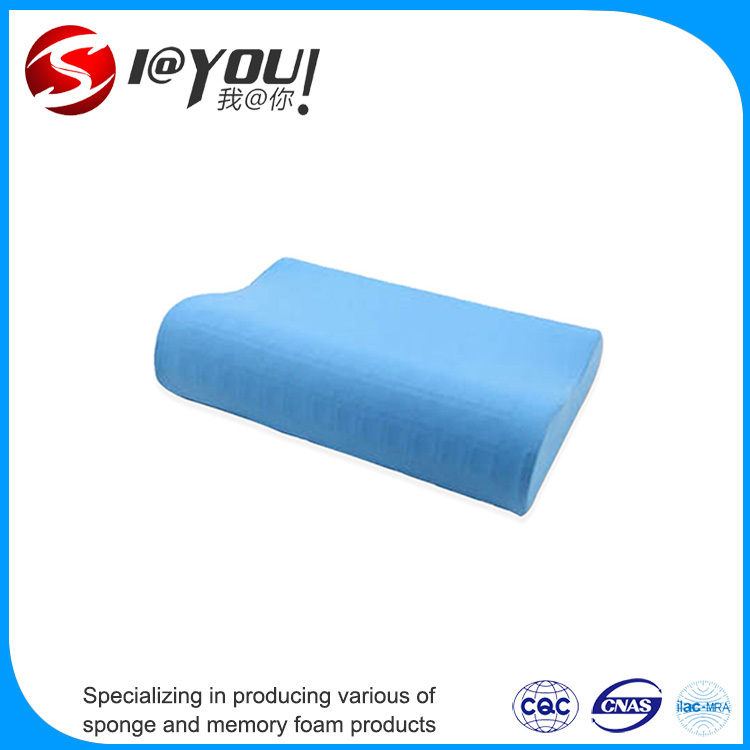 Gel Coated Fiber Fill with Memory Foam pillow