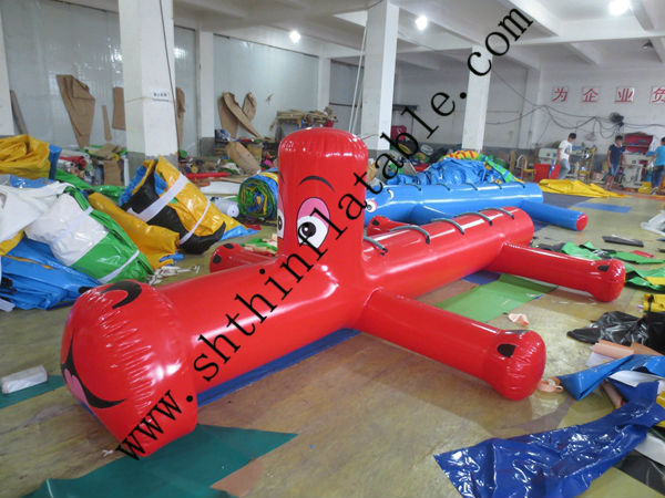2014 inflatable water sport product floating dog