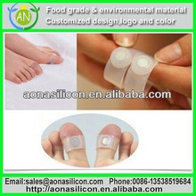Slimming Silicon Magnetic massage Toe Ring