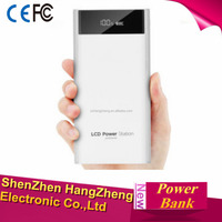 Dual USB LCD Power Bank 20000mah External Battery 18650 Portable Fast Charger Powerbank