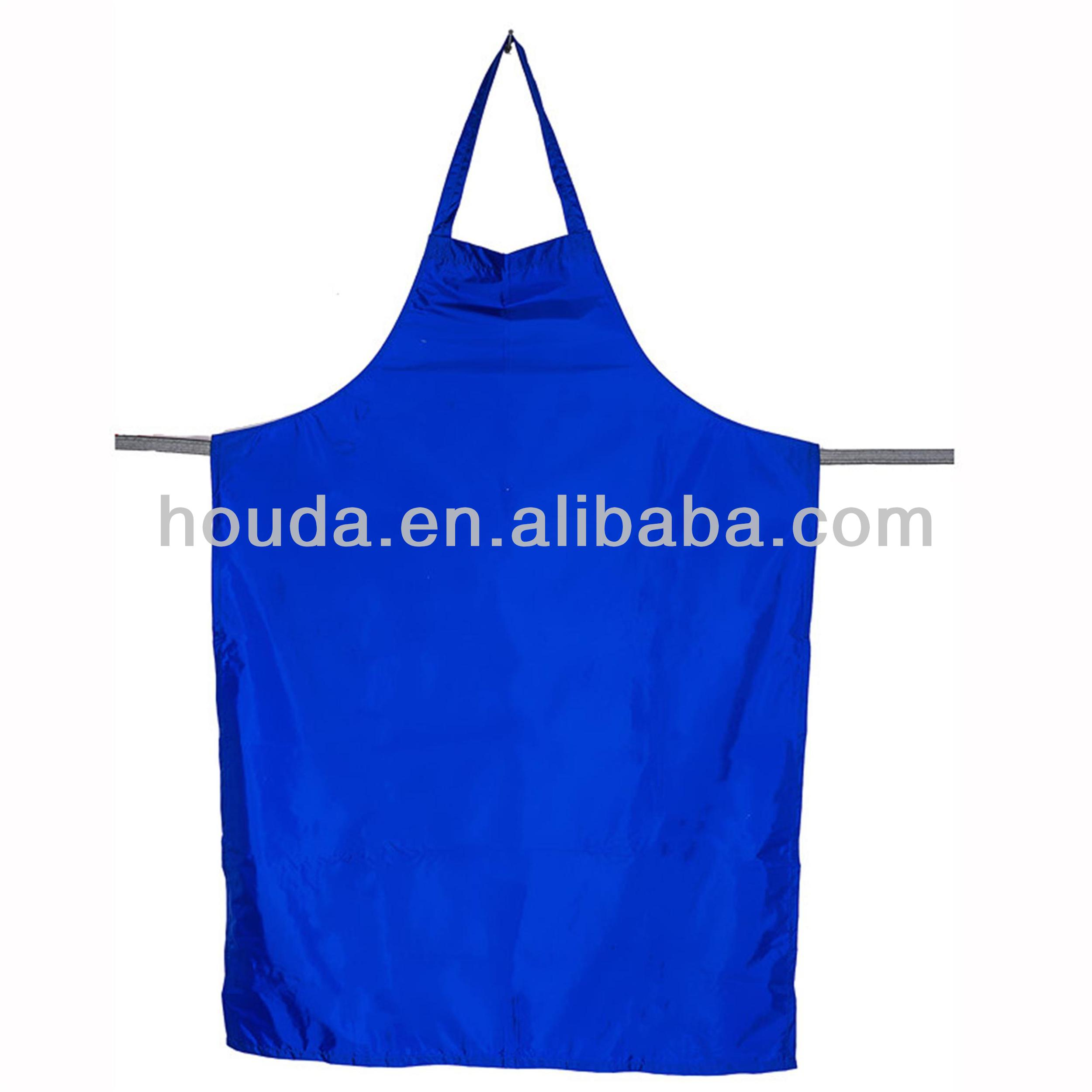 hot sale washable pvc apron for fishman and butcher