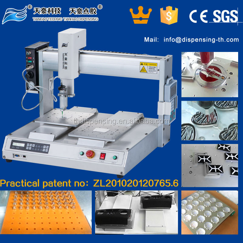 3 axis industrial desktop robot/3 axis paint spraying machine TH-2004D-530Y