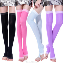 Sleeping Hip Up Legging Sexy Girls Long Sock Breathable Woman Sport Compression Socks