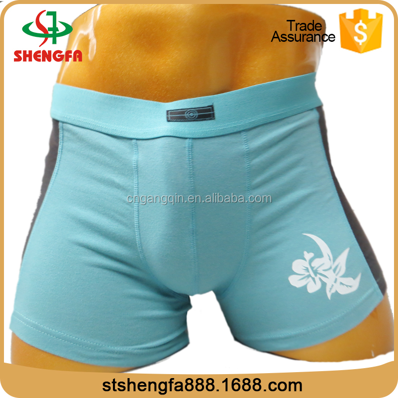 Made in china exquisite print exotic underwear for men
