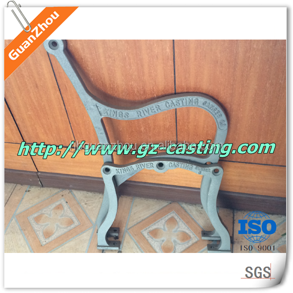China casting foundry oem custom made gray iron cast iron for Cast iron furniture legs for sale
