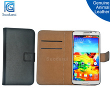 Genuine animal leather Stand Wallet Flip phone Case for Samsung GALAXY Note 3 Lite