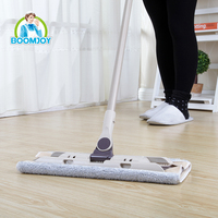 Magic mop 360 spin flat mop, clip cloth mop E400.