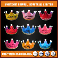 princess plastic birthday party crown made in china