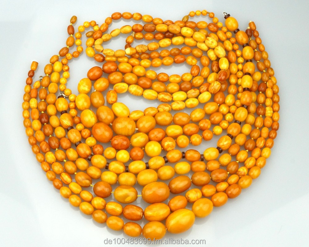 WE SUPPLY ANTIQUE NATURAL AMBER NECKLACES AND RAW AMBER