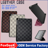 Alibaba express 2015 new products, leather case for 7.8inch tablet pc with stander for iPad mini pc case