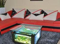Square Shape Marble Grain Acrylic aquarium table fish tank Integrated Accessories BF09-41043