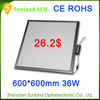 Lowest price 42w SMD3014 CE ROHS panel 85-265v 6w round led panel light
