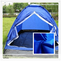 Blue factory Pa with silver coated poly taffeta fabric wholesale