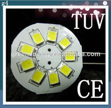 t10 5w5 canbus car led auto bulb with 9pcs 2835 led side pin 10-30v dc also for g4 marine led light