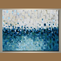 China Factory Abstract Oil Painting On Canvas For Decor In Discount Price