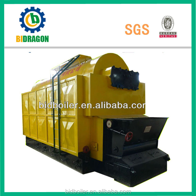 Plastic and rubber industry 10 ton coal fired steam boiler
