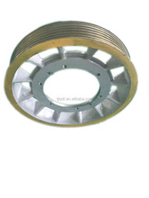Mitsubishi traction elevator wheel ,620*6*12