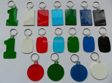 2016 hot selling promotional cheap keychains in bulk