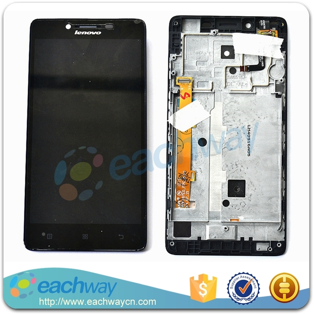 For Lenovo A6000 LCD Display Touch Screen Digitizer Assembly With Frame Original Replacement Parts