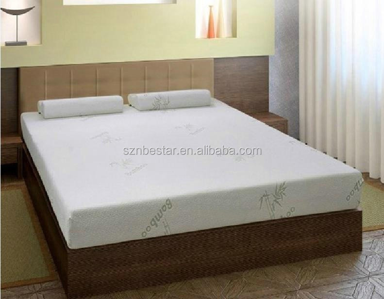 Premium quality Bamboo knitted fabric memory foam mattress