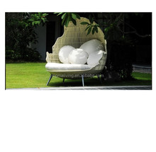 Hot sale leisure way outdoor beach furniture rattan daybed