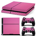 High Quality Carbon Fiber skin sticker For PS4 console and controller
