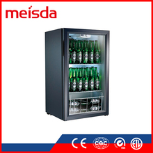 SC98 Glass Door Mini Refrigerator, Cold Fridge, Refrigerator Cooler