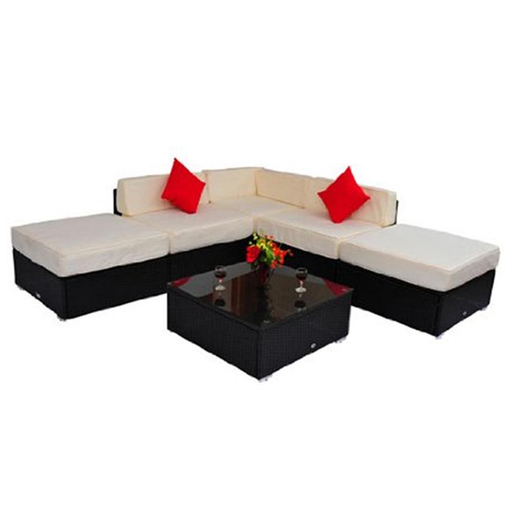 Moderna benchcraft barato al aire libre pe de mimbre al for Muebles de importacion