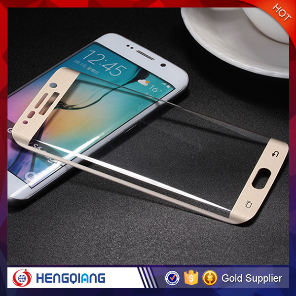 Factory Price 3D Curved Transparent Glass Tempered Protective Film for Samsung S7 edge