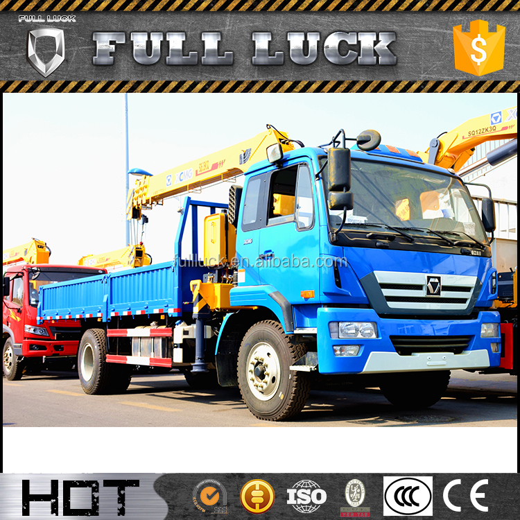 Truck crane SQ6.3SK3Q with 6.3tons Max lifting capacity with high quality