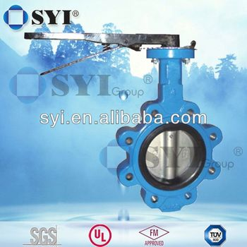 Function DN200 Butterfly valve of SYI GROUP